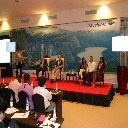HOSTING A PANEL DISCUSSION AT THE TRAVELPORT CONVENTION